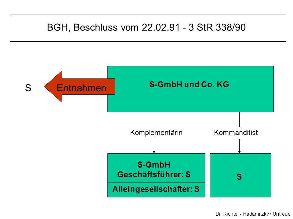 BGH, Beschluss vom 22.02.91 - 3 StR 338/90