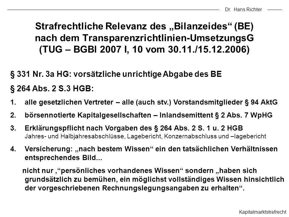 Dr. Hans Richter