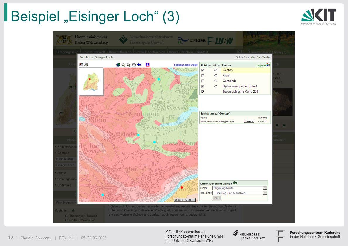"""Beispiel """"Eisinger Loch (3)"""