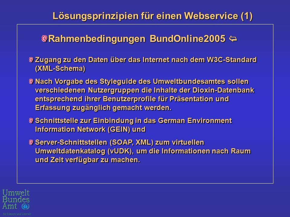 Rahmenbedingungen BundOnline2005 