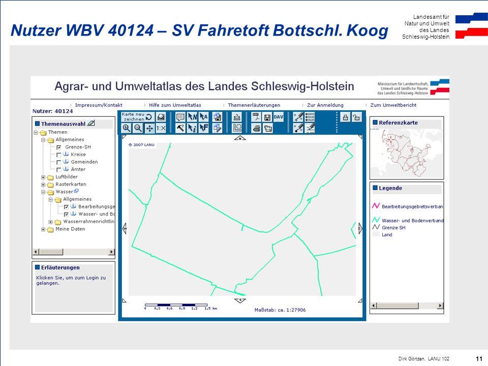 Nutzer WBV 40124 – SV Fahretoft Bottschl. Koog