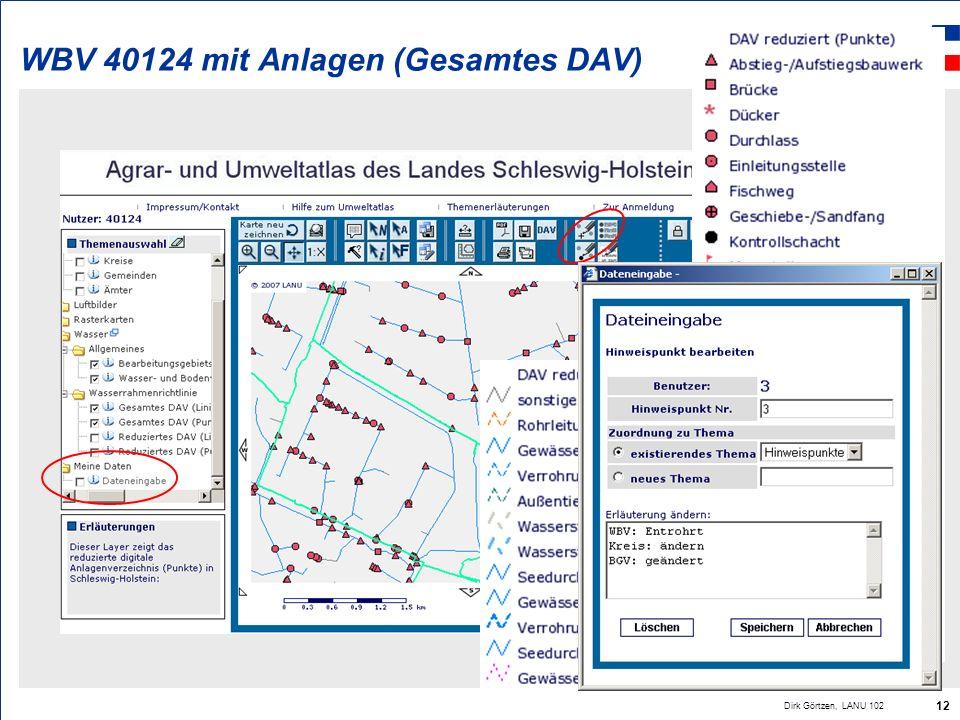 WBV 40124 mit Anlagen (Gesamtes DAV)