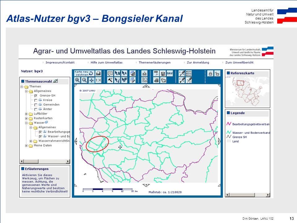 Atlas-Nutzer bgv3 – Bongsieler Kanal