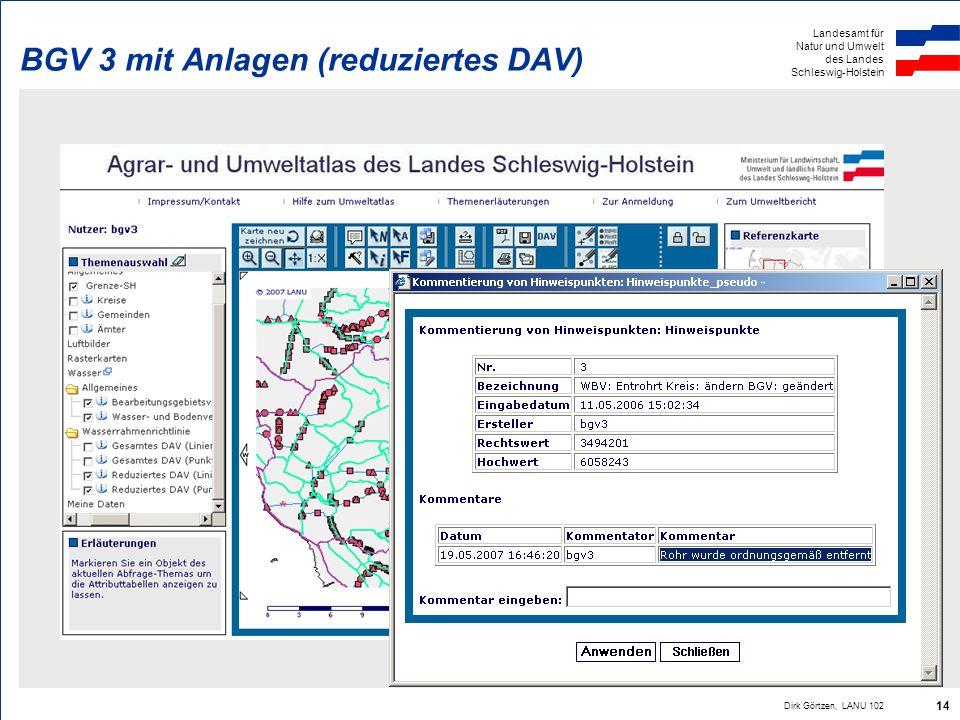 BGV 3 mit Anlagen (reduziertes DAV)