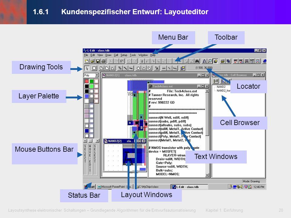 1.6.1 Kundenspezifischer Entwurf: Layouteditor