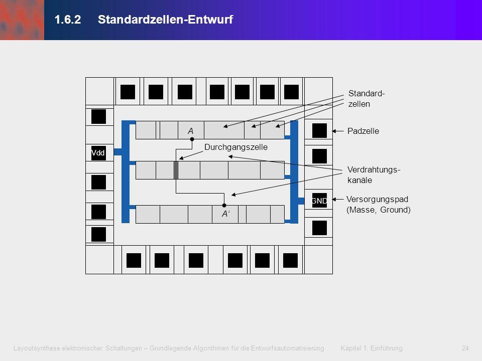 1.6.2 Standardzellen-Entwurf