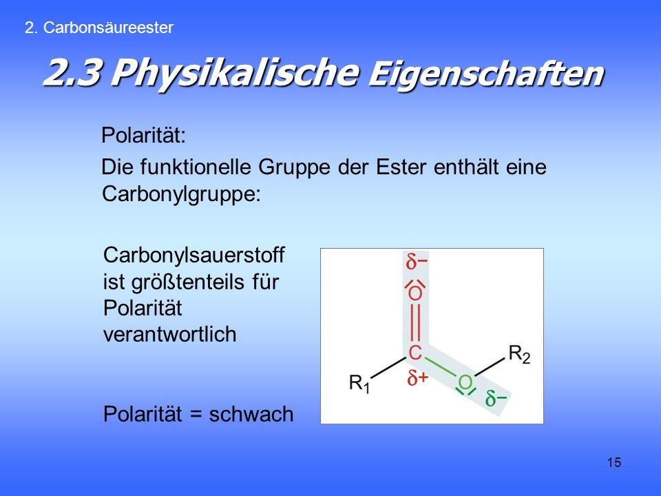 2.3 Physikalische Eigenschaften