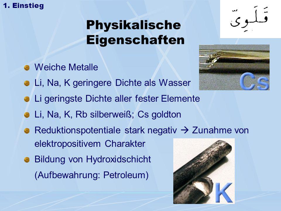 Physikalische Eigenschaften