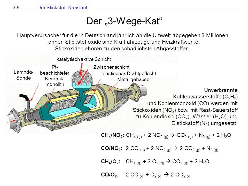 3.5 Der Stickstoff-Kreislauf