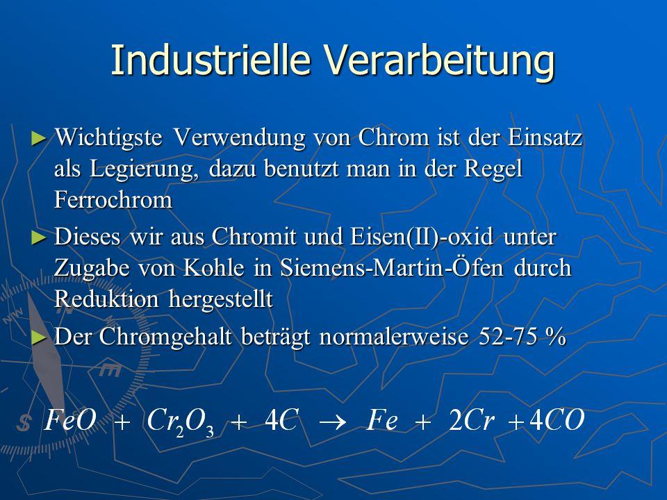 Industrielle Verarbeitung