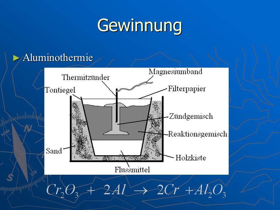 Gewinnung Aluminothermie