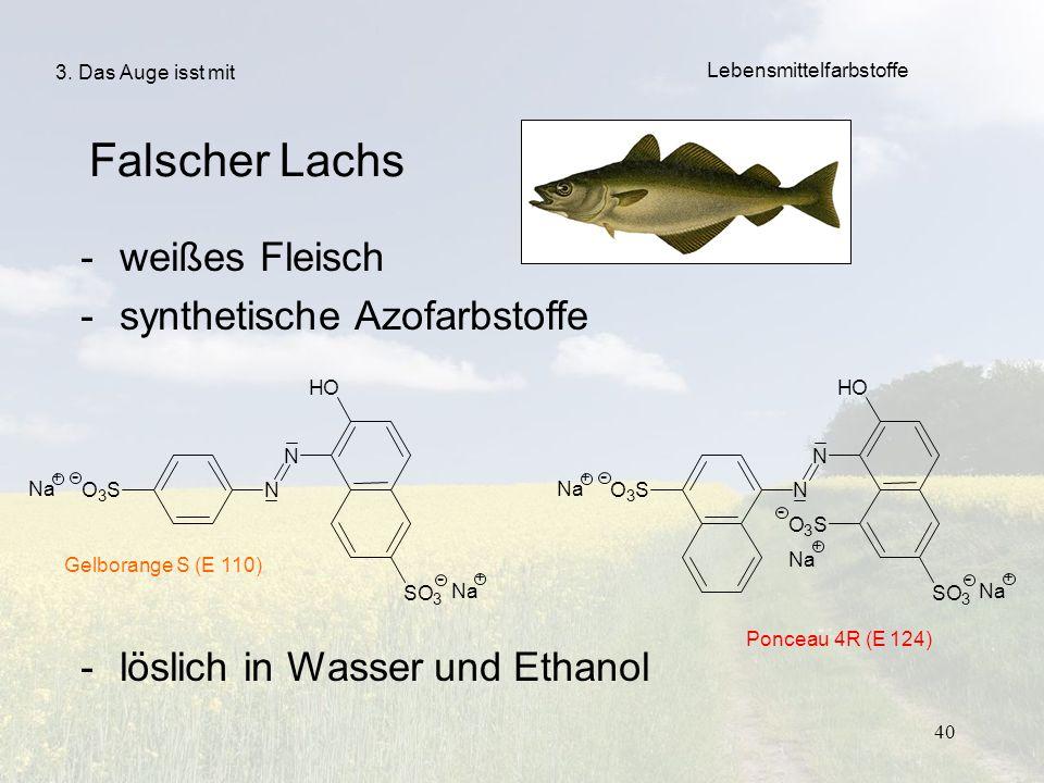 synthetische Azofarbstoffe