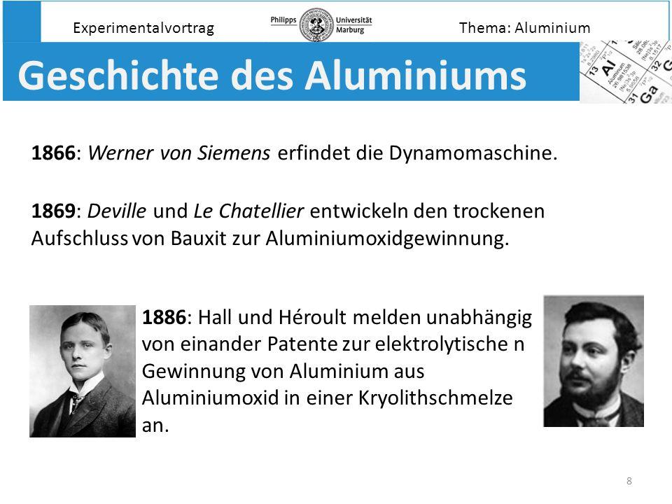 Geschichte des Aluminiums