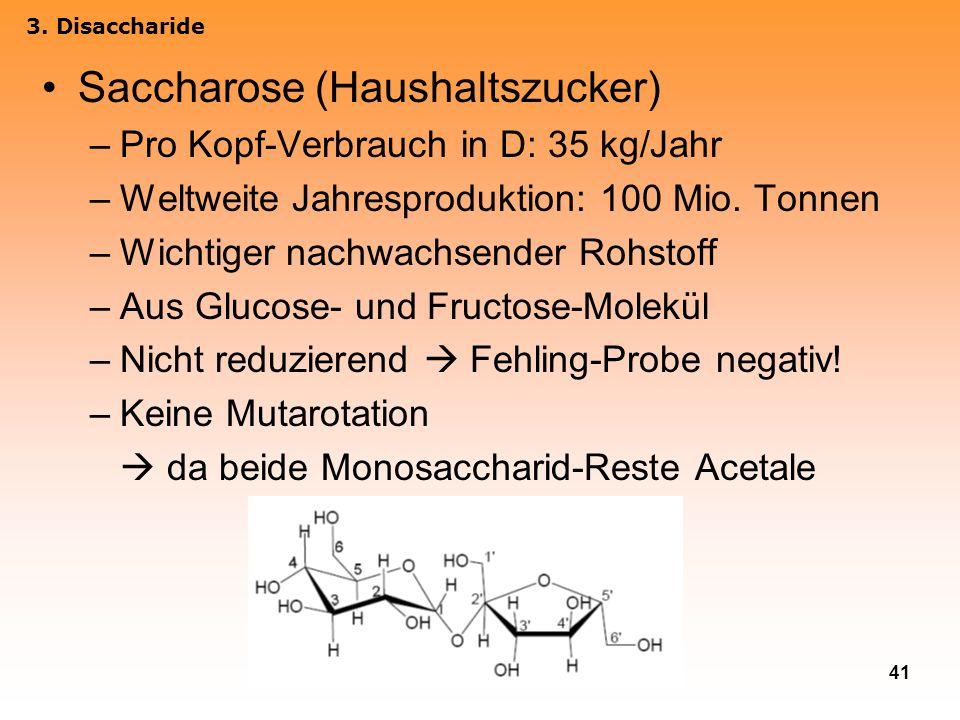 Saccharose (Haushaltszucker)