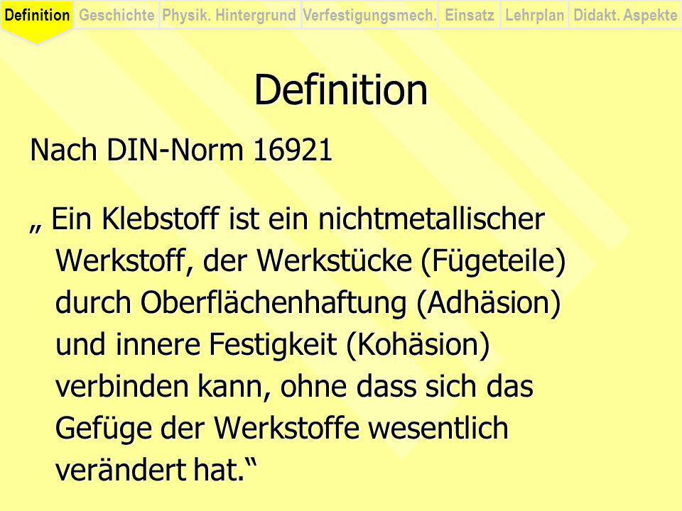 Definition Nach DIN-Norm 16921