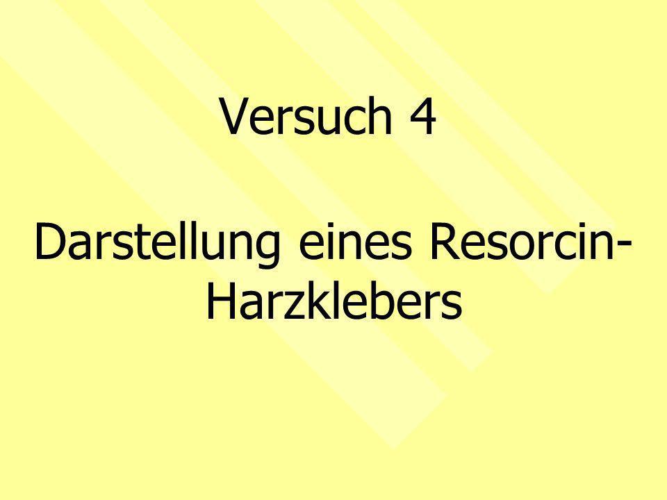 Darstellung eines Resorcin-Harzklebers