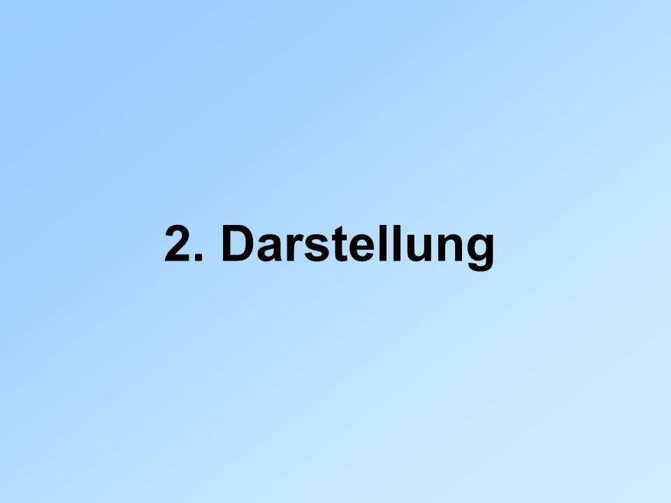 2. Darstellung