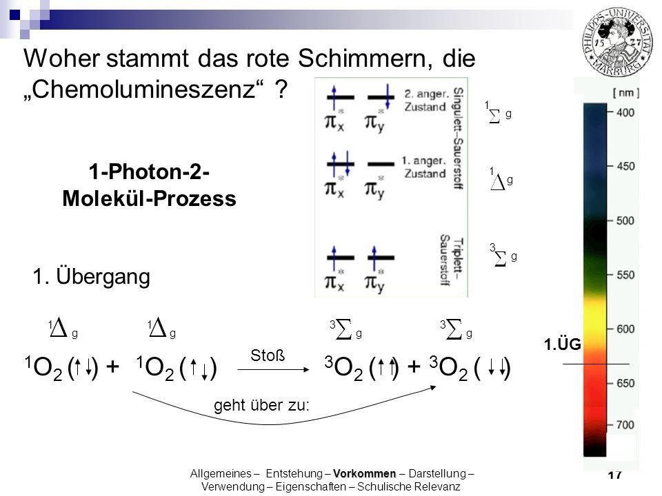 1-Photon-2- Molekül-Prozess