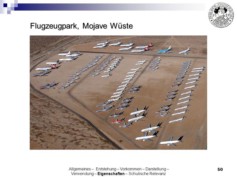 Flugzeugpark, Mojave Wüste