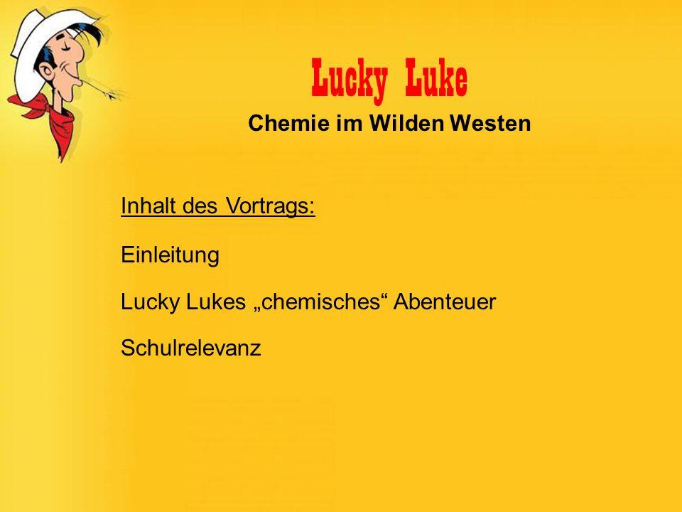 Lucky Luke Chemie im Wilden Westen