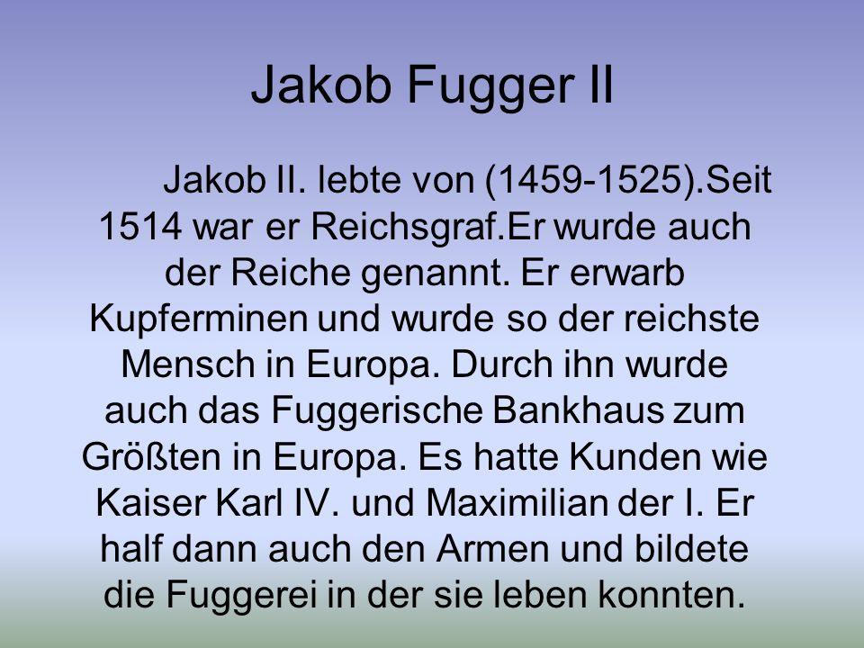 Jakob Fugger II