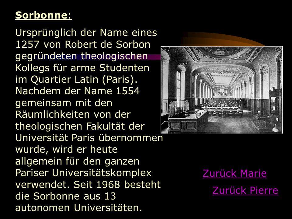 Sorbonne: