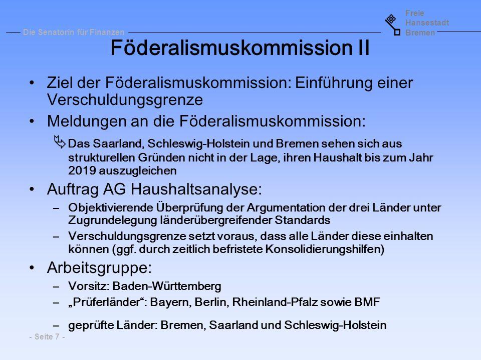 Föderalismuskommission II