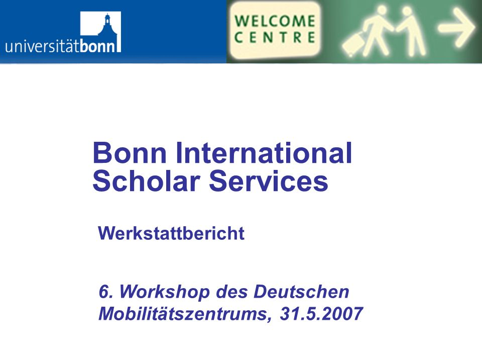 Bonn International Scholar Services