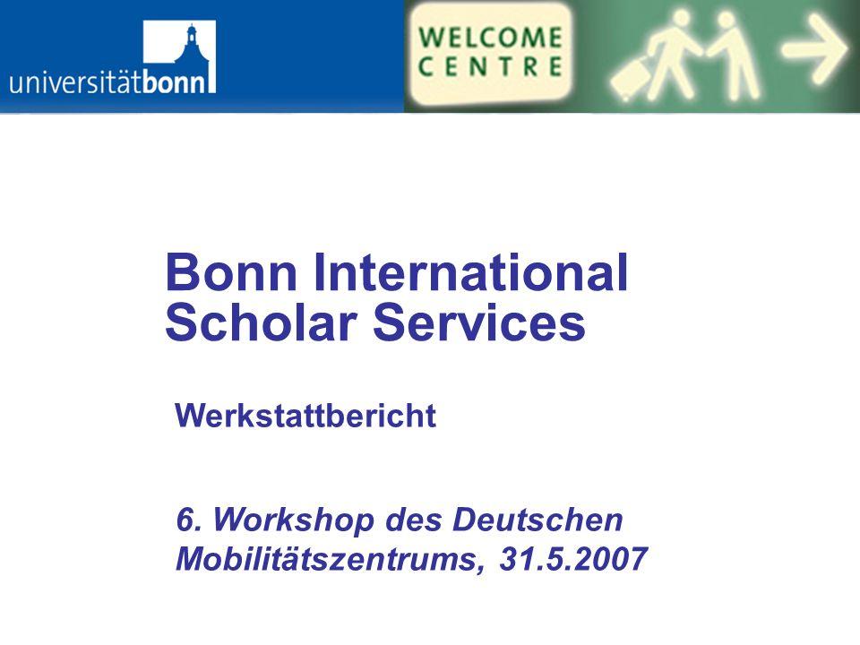 Bonn International Scholar Services