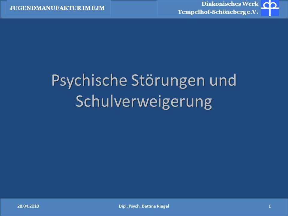Psychische Störungen und Schulverweigerung