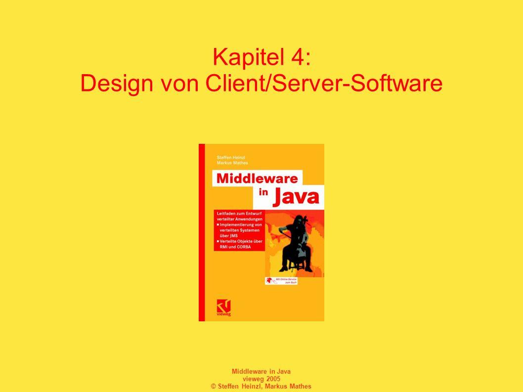 Kapitel 4: Design von Client/Server-Software