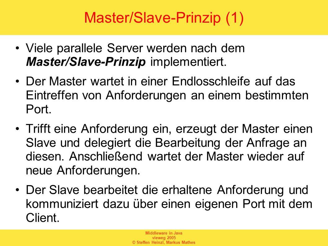Master/Slave-Prinzip (1)