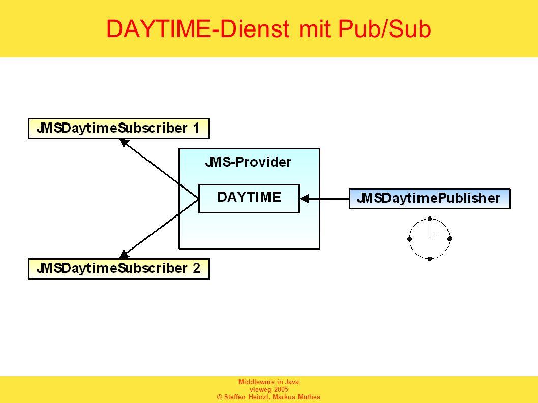 DAYTIME-Dienst mit Pub/Sub