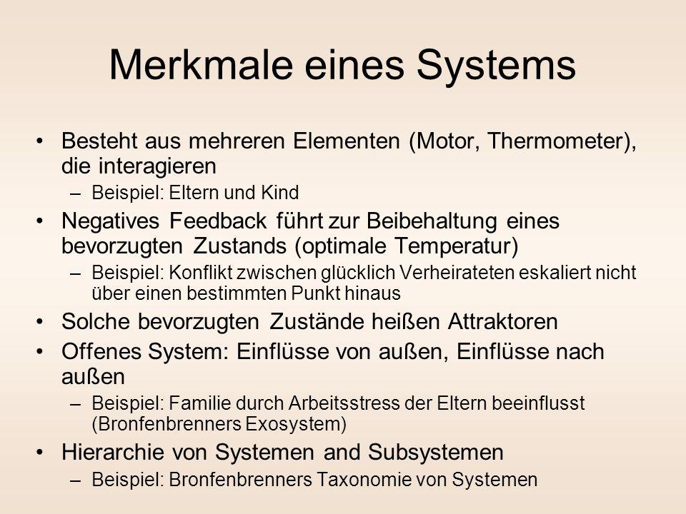 Merkmale eines Systems
