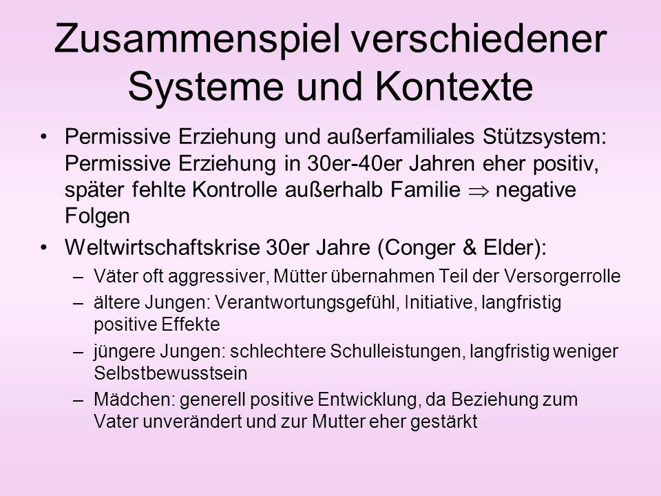 Zusammenspiel verschiedener Systeme und Kontexte