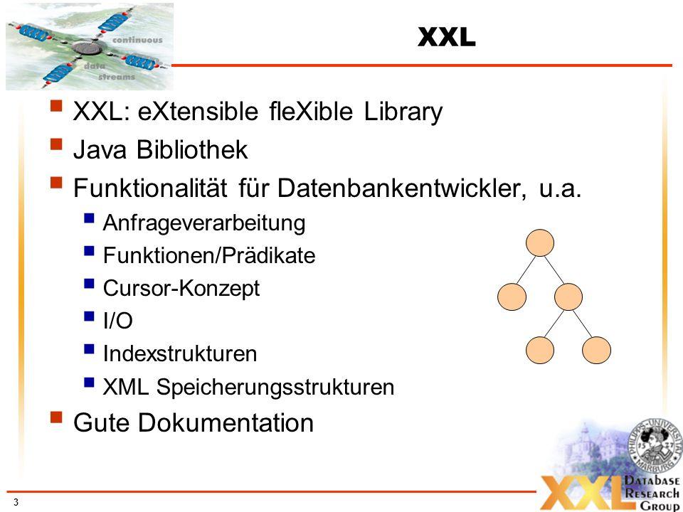 XXL: eXtensible fleXible Library Java Bibliothek