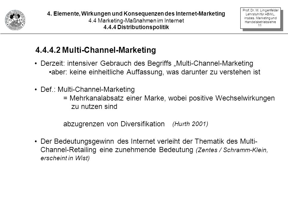 4.4.4.2 Multi-Channel-Marketing
