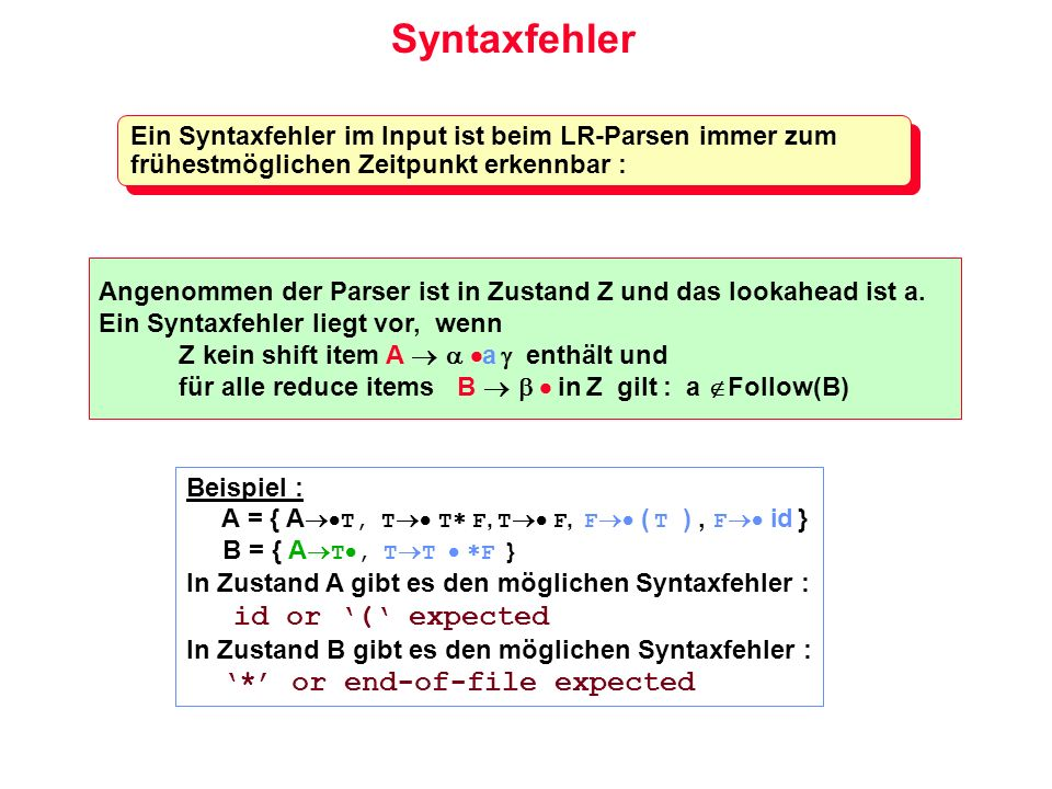 Syntaxfehler '*' or end-of-file expected