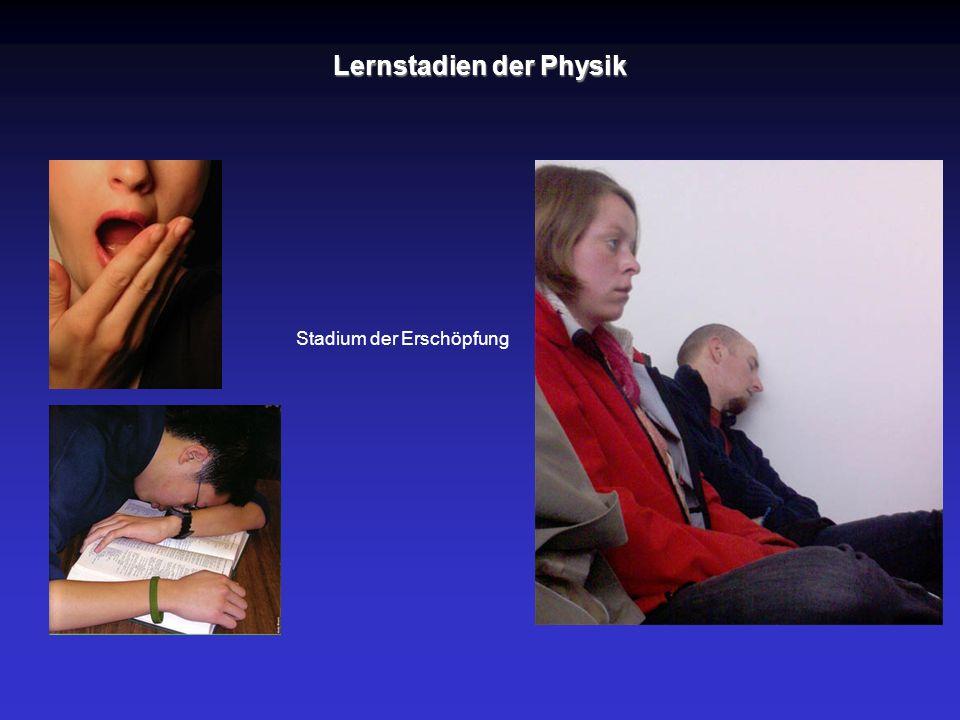 Lernstadien der Physik