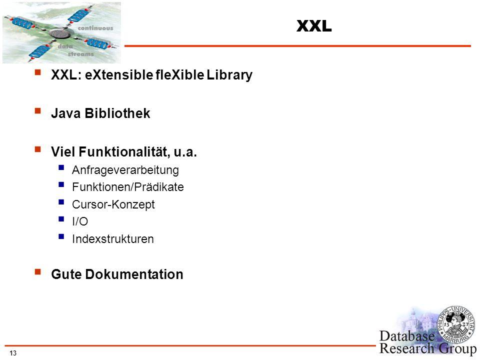 XXL XXL: eXtensible fleXible Library Java Bibliothek