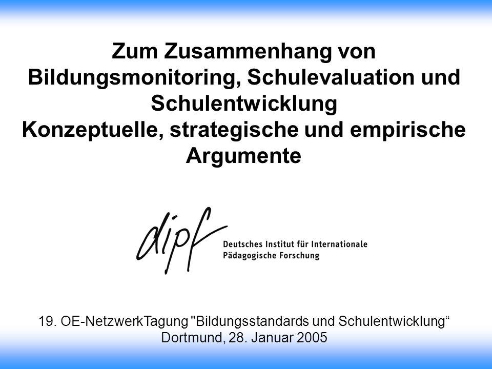 Konzeptuelle, strategische und empirische Argumente
