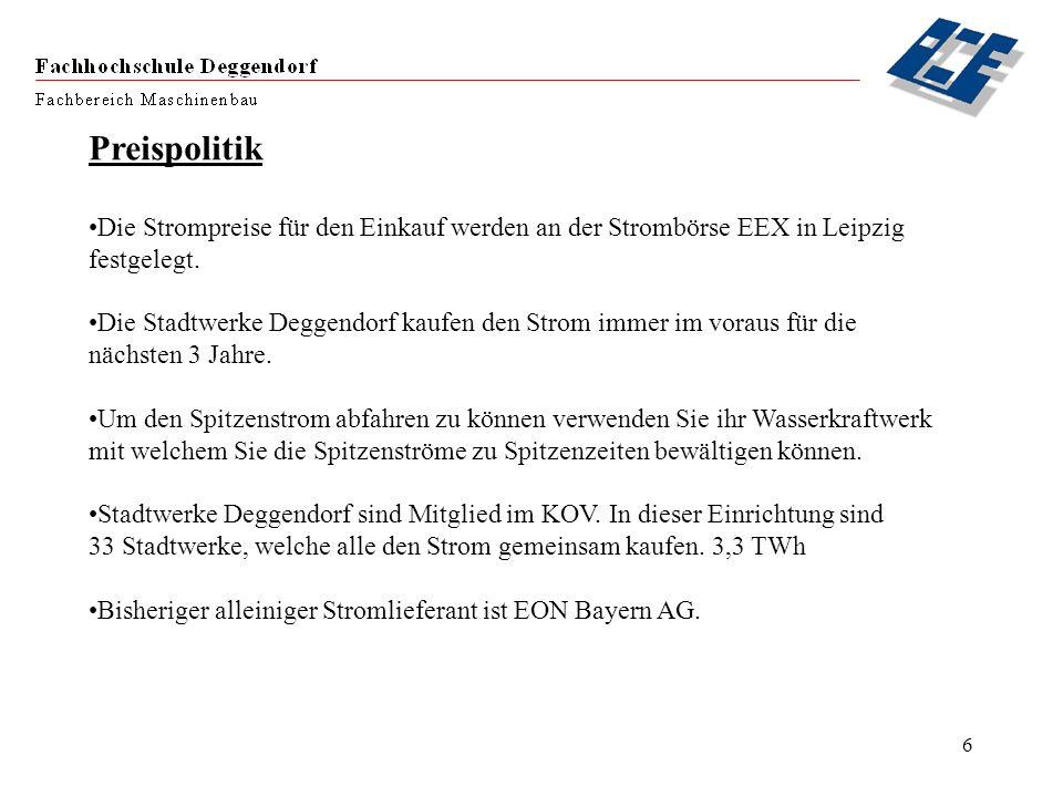 Preispolitik Die Strompreise für den Einkauf werden an der Strombörse EEX in Leipzig. festgelegt.