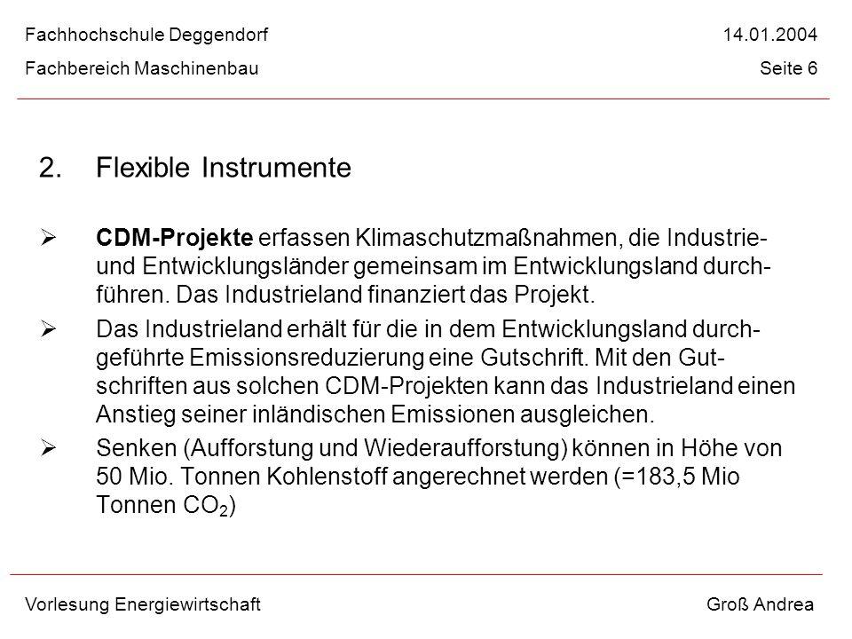 Fachhochschule Deggendorf 14.01.2004