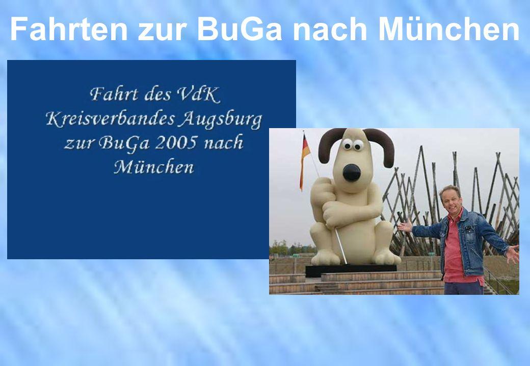 Fahrten zur BuGa nach München