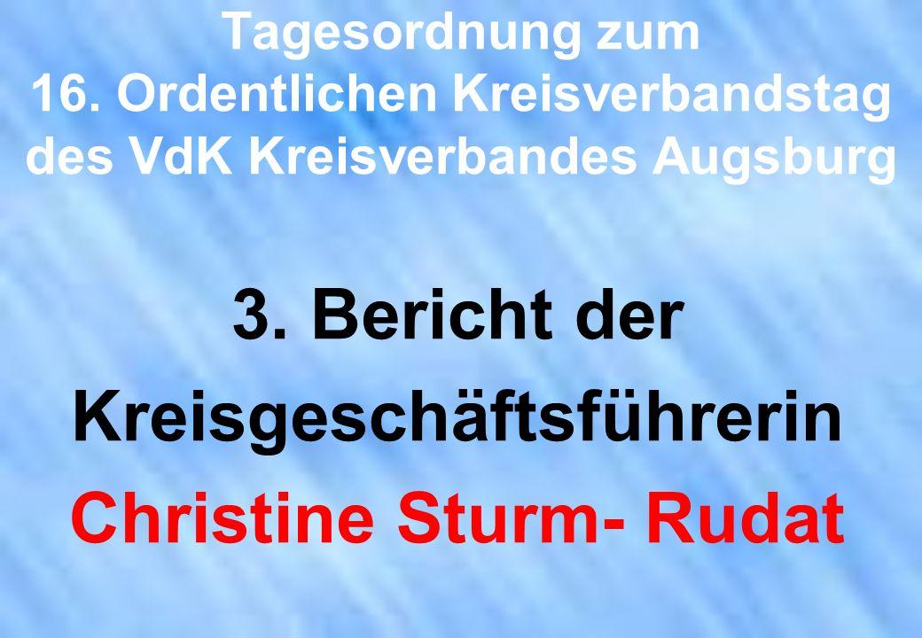 Kreisgeschäftsführerin Christine Sturm- Rudat