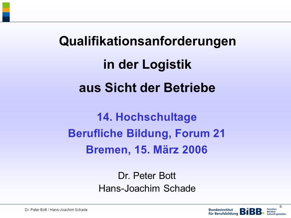 Qualifikationsanforderungen Berufliche Bildung, Forum 21
