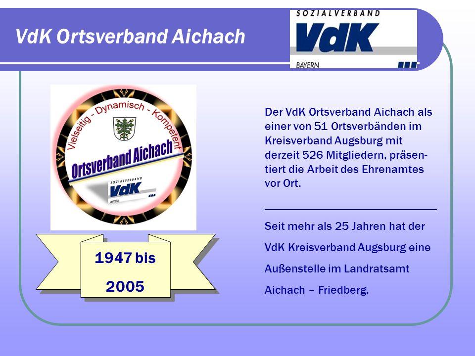 VdK Ortsverband Aichach
