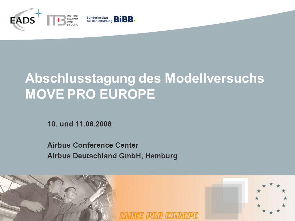 Abschlusstagung des Modellversuchs MOVE PRO EUROPE