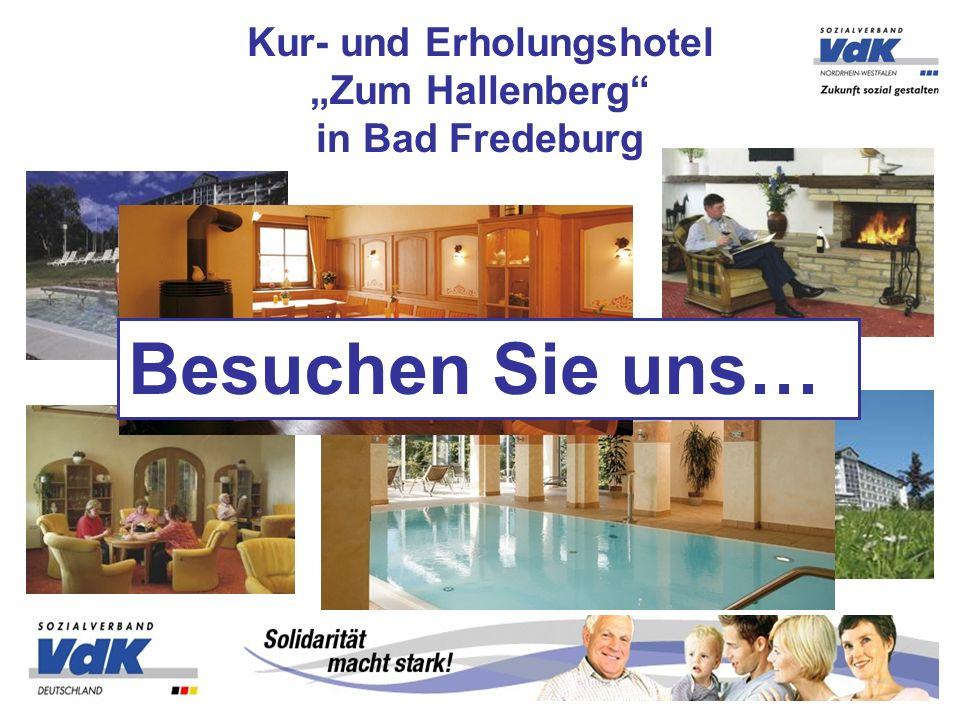"""Kur- und Erholungshotel """"Zum Hallenberg in Bad Fredeburg"""