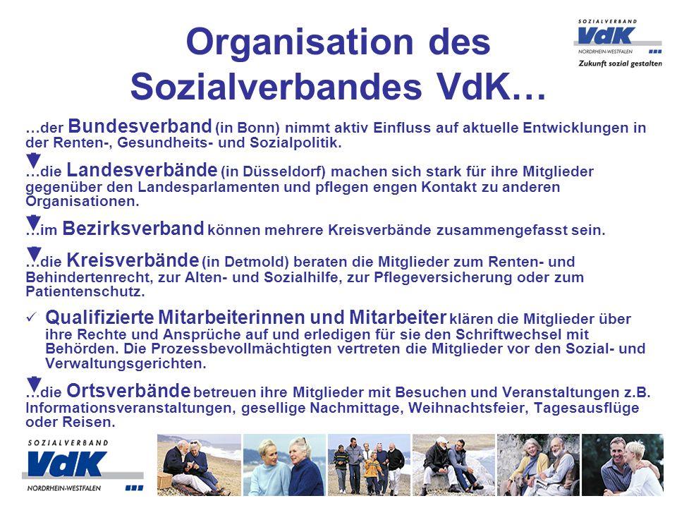 Organisation des Sozialverbandes VdK…